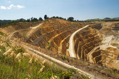 Gold mine Royalty Free Stock Photography