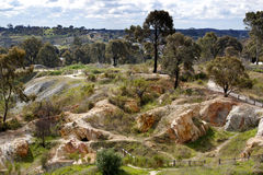 Gold Mine, Australian Heritage Stock Photography