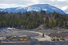 Gold Mine in Colorado Stock Photo
