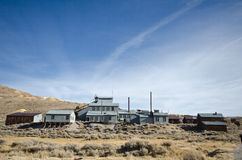 Gold Mine in Ghost Town Stock Photo