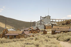 Gold mine stamp or standard mill, Bodie, California Stock Photos