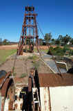 Gold mining industrial monument Stock Photo