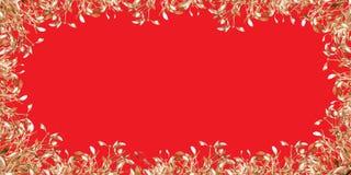 Gold mistletoe Stock Image