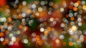 Gold mix red abstract bokeh background with defocused lights. 4k stock video footage
