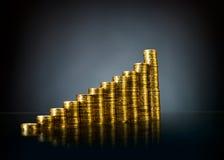 Gold money Stock Photo
