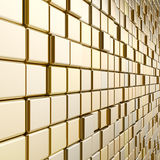 Gold mosaic Royalty Free Stock Photos