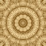 Gold mosaic abstract element and kaleidoscope backdrop,  business card art. Gold mosaic abstract element and kaleidoscope ornamental backdrop,  business card art stock illustration