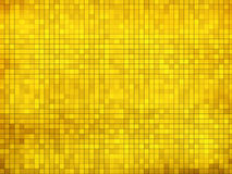 Gold mosaic background Stock Image