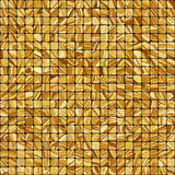 Gold mosaic background. EPS 8 Stock Image