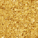 Gold mosaic background. EPS 8 Royalty Free Stock Images
