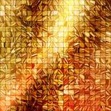 Gold mosaic background. EPS 10 Royalty Free Stock Photo
