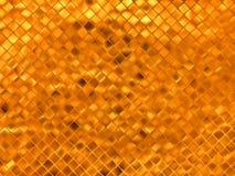 Gold mosaic background. EPS 8 Stock Images