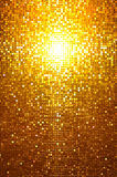Gold mosaic. Effect night style Stock Images