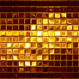 Gold mosaic Stock Images