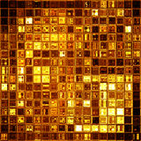 Gold mosaic Royalty Free Stock Image