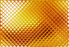 Gold mosaic Stock Image