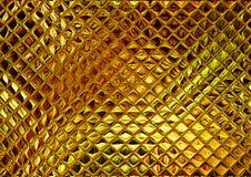Gold mosaic Stock Photo
