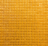 Gold mosaic tiles texture Royalty Free Stock Images