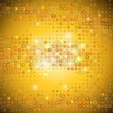 Gold mosaic. Stock Photo