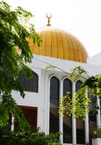 Gold mosque Royalty Free Stock Photography