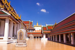 Gold Mountain Temple Royalty Free Stock Image