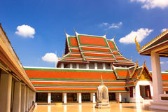 Gold Mountain Temple Royalty Free Stock Photography
