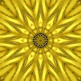 Gold mythical kaleidoscope, gold star light effect
