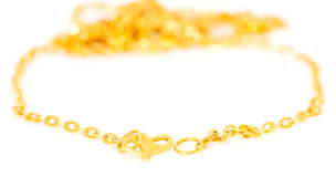 Gold Necklace Royalty Free Stock Photos