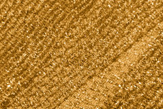 Gold netting fabric decor Stock Images