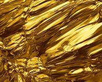 Gold nugget. Abstraction golden texture Royalty Free Stock Image