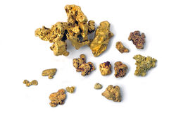 Gold nugget Royalty Free Stock Images