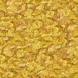 Gold Nuggets Royalty Free Stock Photo