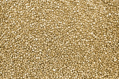 Gold nuggets background Stock Photography