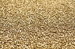 Gold nuggets. Closeup abstract background royalty free stock photos