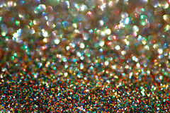 Gold nuggets sparkling carpet. Close-up view, very Royalty Free Stock Photos