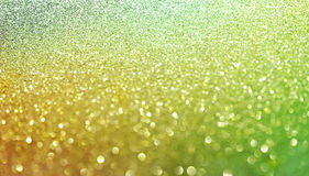 Gold nuggets sparkling carpet. Close-up view, very shallow deep of field . Macro. Stock Image