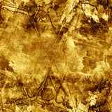 Gold ore. Seamless texture Royalty Free Stock Photography