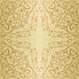 Gold orient pattern Stock Photos