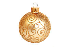 Gold ornament Royalty Free Stock Image