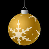 Gold Ornament Royalty Free Stock Photo