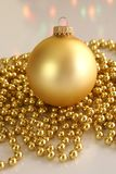 gold ornament Στοκ φωτογραφία με δικαίωμα ελεύθερης χρήσης