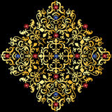Gold ornament Royalty Free Stock Images
