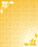 Gold Ornamental Background Royalty Free Stock Photography