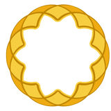 Gold ornamental frame 1 Stock Photography