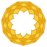 Gold ornamental frame 5 Royalty Free Stock Photos