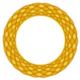 Gold ornamental frame 6 Stock Photography