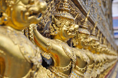 Gold ornamental stock photo