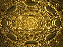 Gold ornaments Royalty Free Stock Photos
