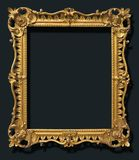 Gold Ornate Antique Vintage Frame Royalty Free Stock Images