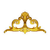 Gold ornate Royalty Free Stock Photo
